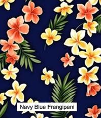 Navy Blue Frangipani