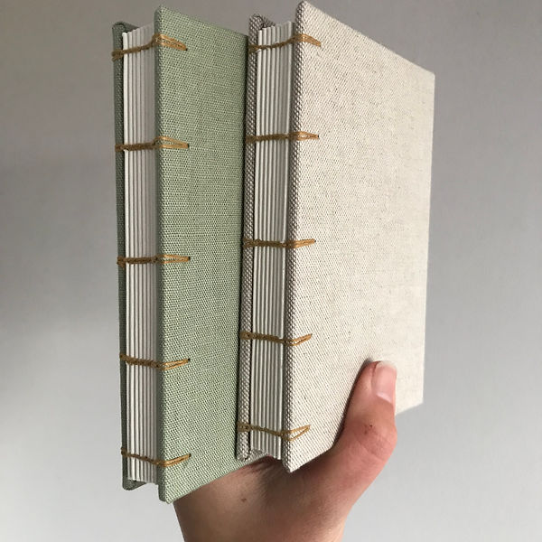 Hand bound books by Florrie
