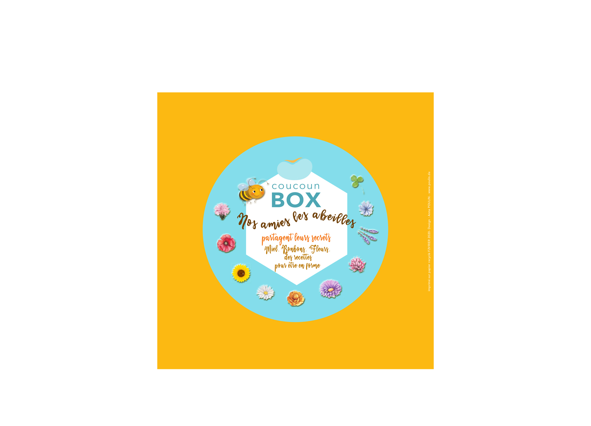 coucoun box abeille - Anna POULIN