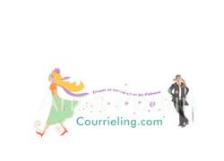 logo courrieling - copyright Anna POULIN