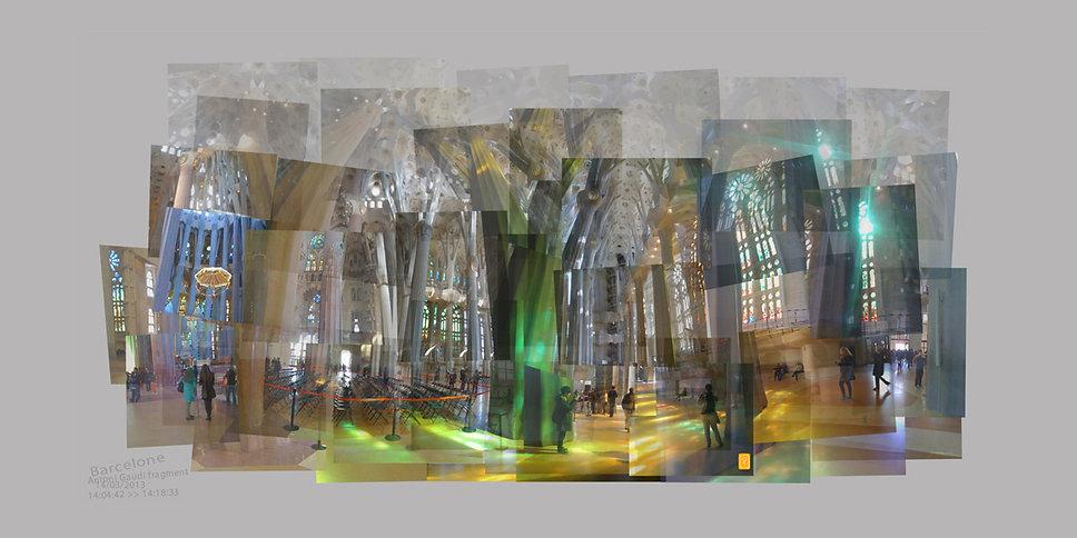 Sagrada Familia fragments - Anna Poulin.