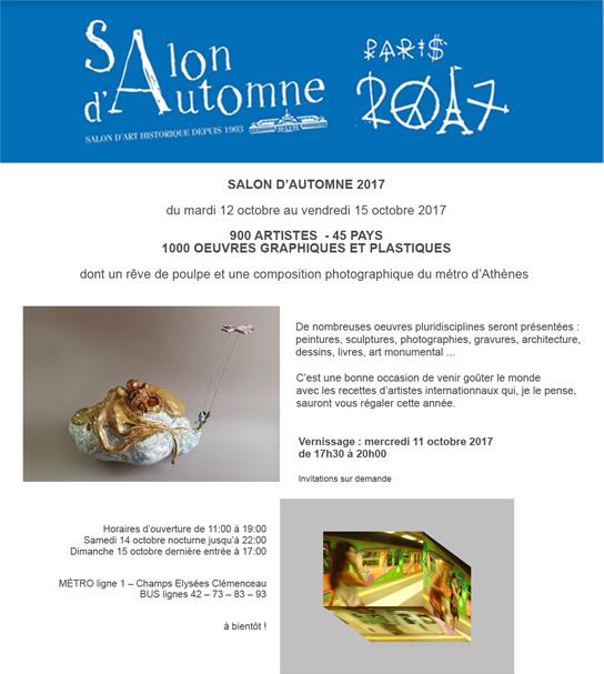 Salon d'Autome 2017