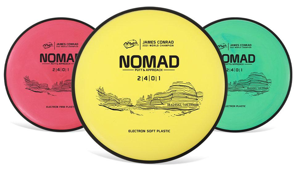 Electron Nomad, James Conrad Edition