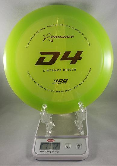 Prodigy D4 400 Series