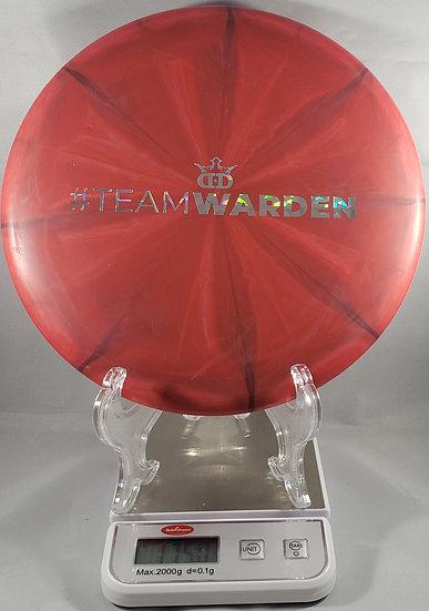 Dynamic Discs Classic Blend Burst Warden #Team stamp