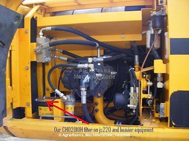 Chainings Filtration JRJ0238 Plexus filter JCB Excavator JS220