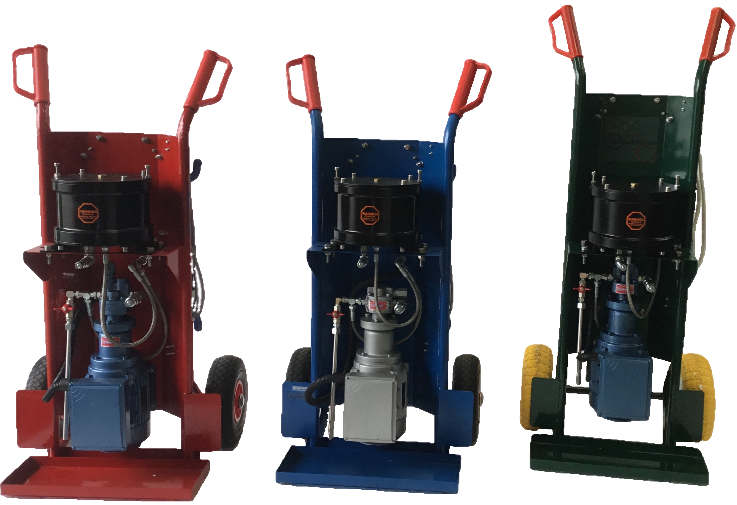 A range of Chainings Filtration Unit
