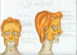 Troy McClur Mask & Hat Rendering