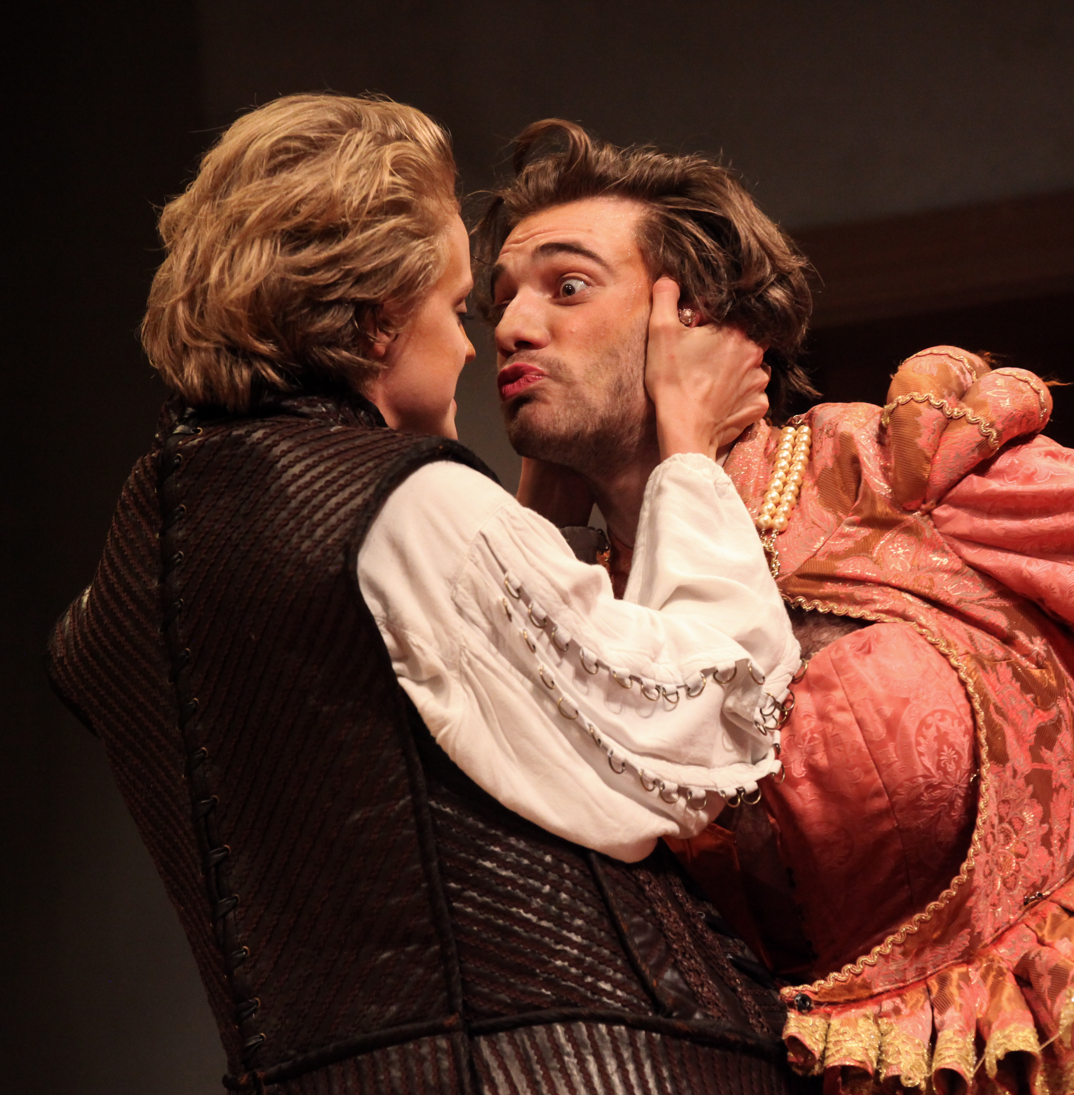 Kate and Petruchio