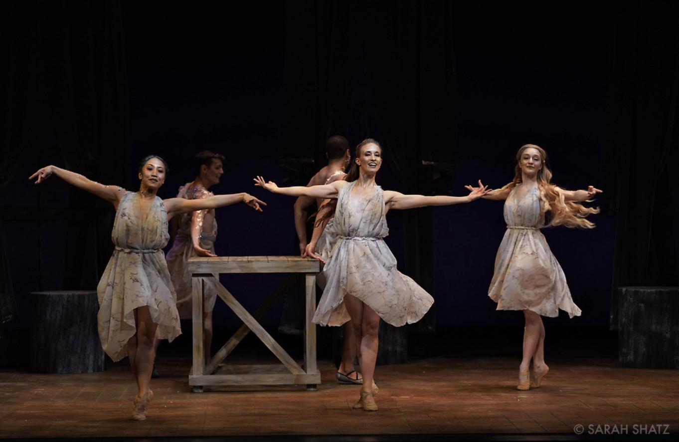 Act 2 Statue Dancers