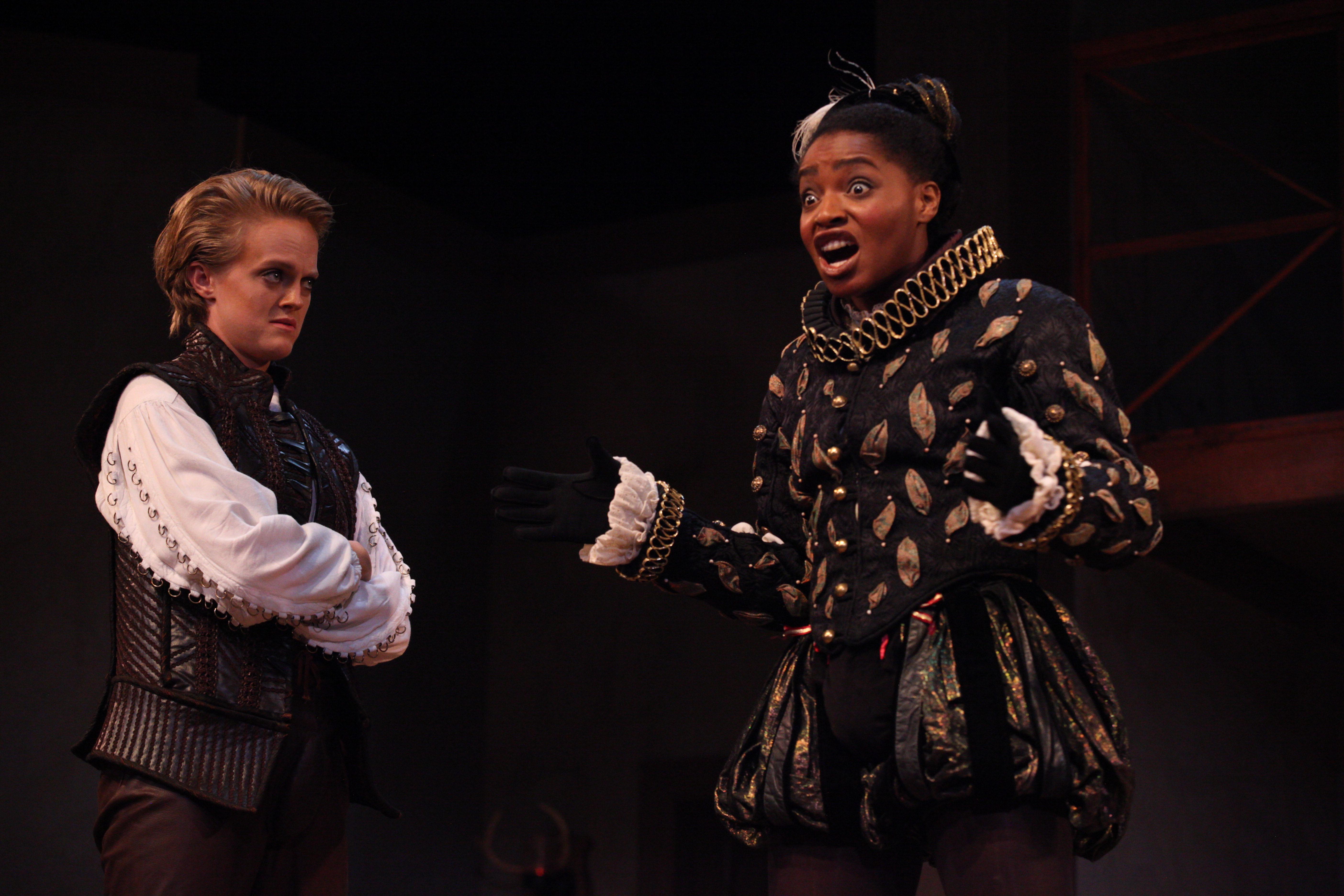 Hortensio and Petruchio