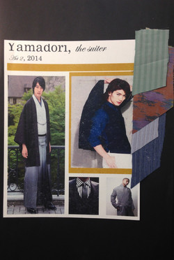 Yamadori Character Collage