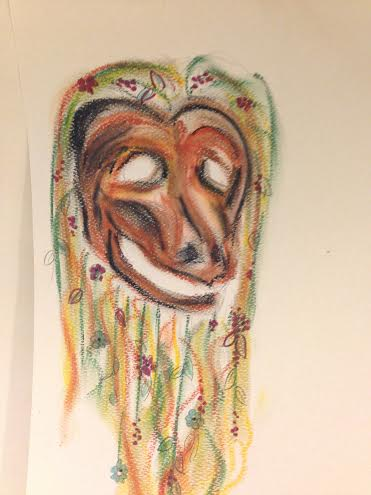 Pascola Mask Sketch
