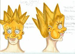 Lisa Mask & Hat Rendering