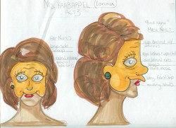 Edna Krebapple Mask & Rendering
