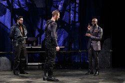 The Guard, Messenger and Creon meet