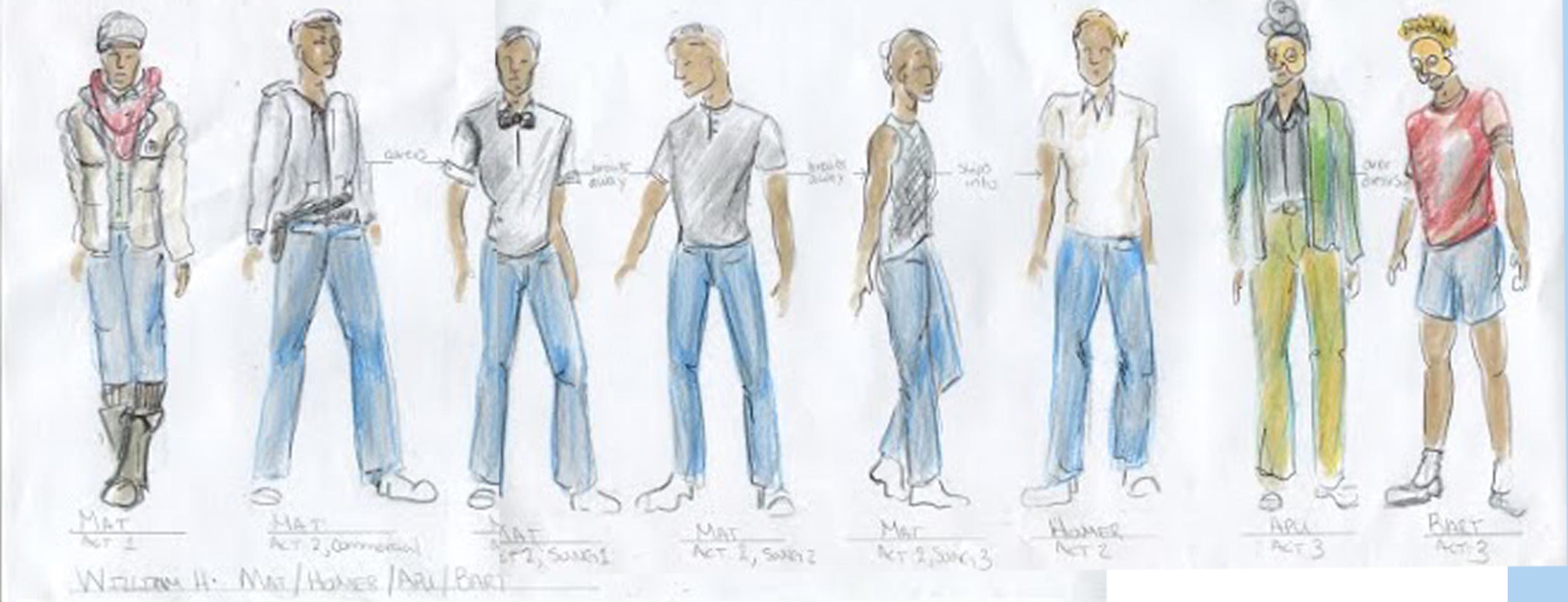 Character Matt Costume Track