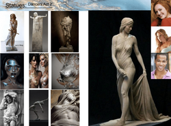 Statue Dancers