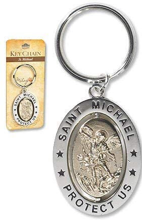 St Michael Key Chain