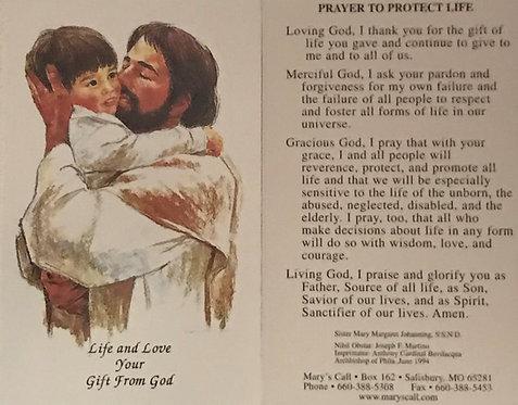 """Jesus With Child 4"""" X 6"""""""