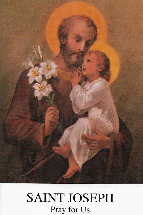 Saint Joseph Pray for Us