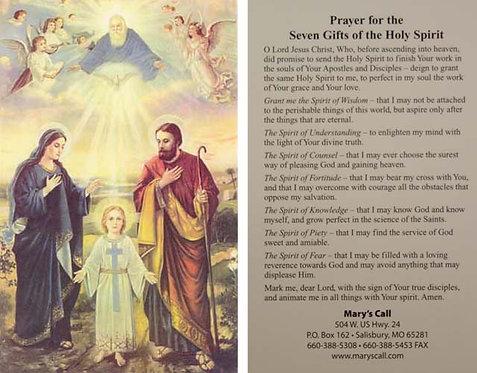 """Holy Family & Trinity 4"""" x 6"""""""