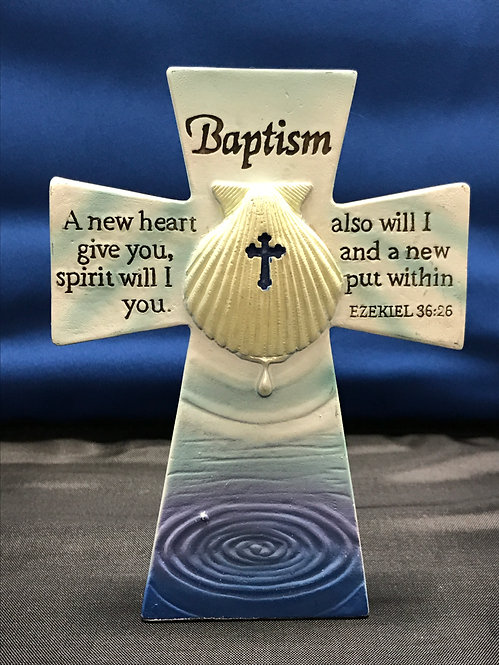 Baptism Tabletop Cross