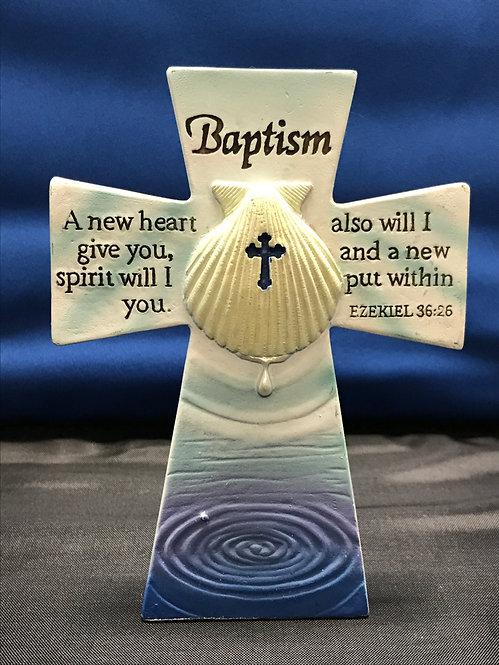 Baptism Tabletop Cross