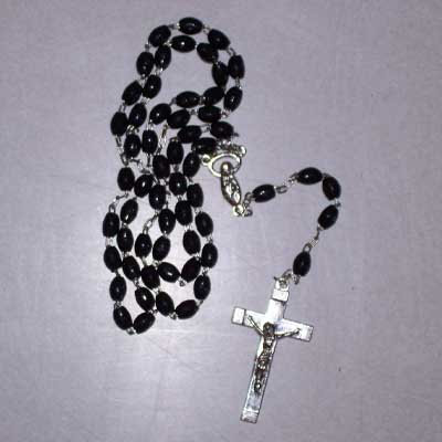 Rosary - Chain, Black