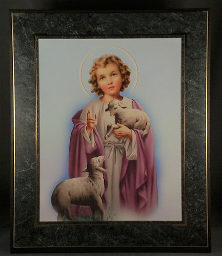 Child Jesus with Lambs