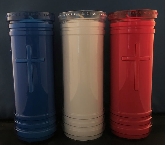 5-6 Day Votive Candle (Quantity 4 of same color)