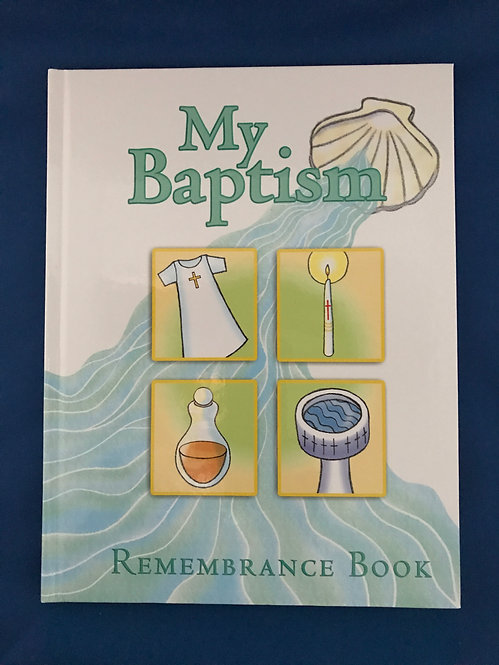 My Baptism Remembrance Book