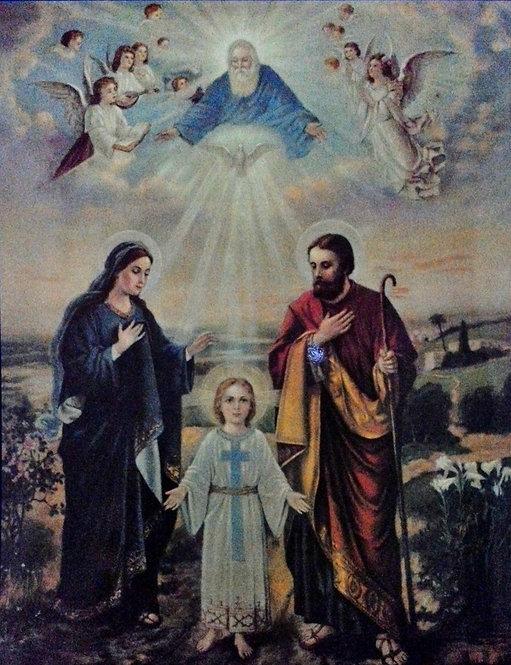 """Holy Family 11"""" x 14"""""""
