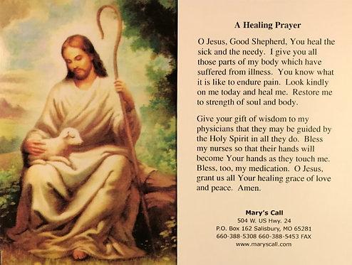 "Healing Prayer 4"" x 6"""