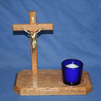 Cross and Stand 8""