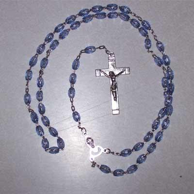 Rosary - Chain, Sapphire