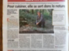 Article dans la Montagne du 06 août 😉.j