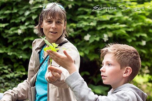 11-12 sept 2021  -Week-end Parent/enfant Immersion  Nature
