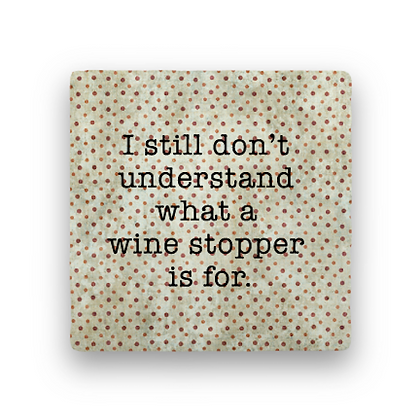 Wine Stopper Coaster