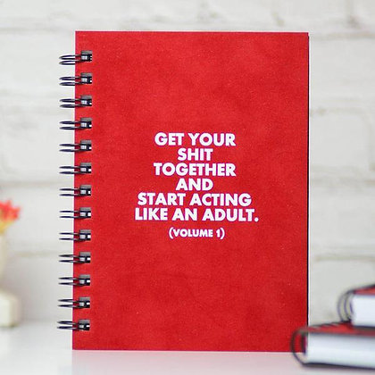 Start Acting Like An Adult Journal