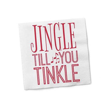 Jingle Till You Tinkle Napkins