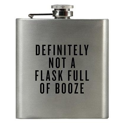 Definitely Not a Flask Full of Booze Flask