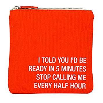 Every Half Hour Cosmetic Bag