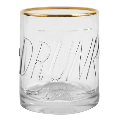 Drunkish Lowball Glass