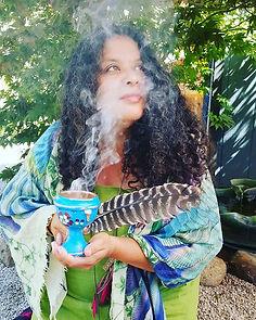 Brenda Smudging popochcomitl 50.jpg