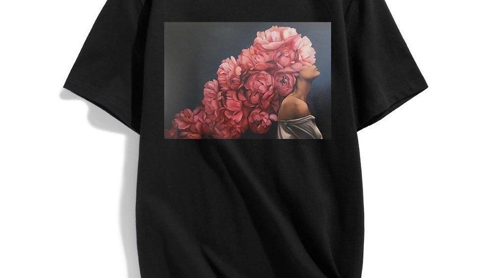 Kiyohara Rose Printed T-Shirt