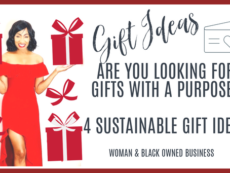 Purposeful Holiday Gifts of 2020: Sustainable, Pure, All Natural  Ideas/ Perfect Self Care Products