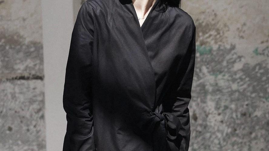 Kaisho V-Collar Long Sleeve Bandage Shirt