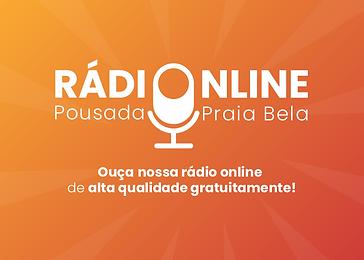Logo - Rádio Online Site - Praia Bela.pn