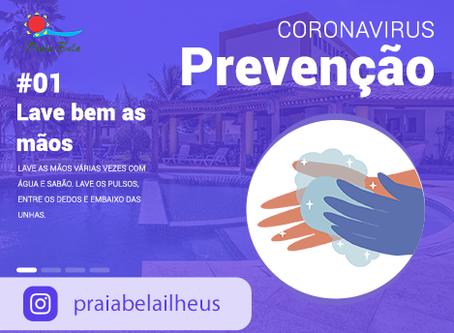 Como se prevenir do Coronavírus